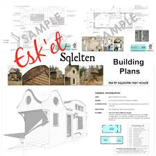 plans for sale esket tiny house
