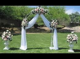 wedding arbor ideas decorated wedding arches www edres info