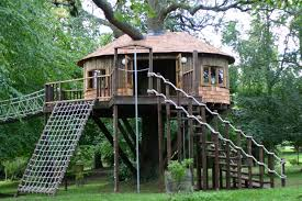 Amazing Treehouses For KIds YouTube Advanced Tree Houses Kids