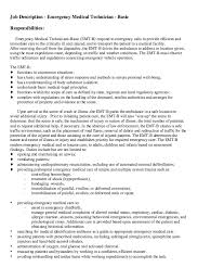 Receiving Clerk Job Description Resume by Emt Job Description Http Resumesdesign Com Emt Job Description