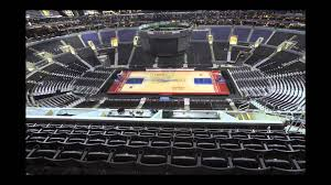 Staples Center Seat Map Staples Center Floor Change Kings To Lakers To Clippers Youtube