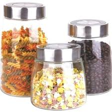 glass kitchen storage canisters metal storage canisters fashionable glass kitchen canisters