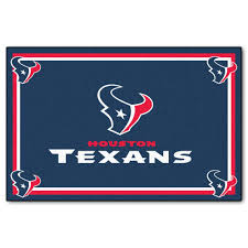 fanmats houston texans 5 ft x 8 ft area rug 6578 the home depot