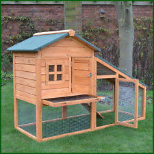 Double Decker Rabbit Hutch Large Rabbit Hutches Pet Supplies Ebay