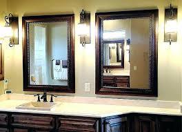 Large Bathroom Vanity Mirrors Bathroom Vanities Mirrors And Lighting Rustic For Vanity Large