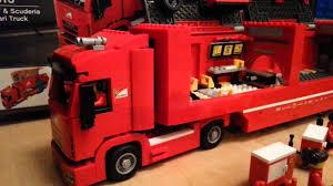 ferrari lego truck lego speed champions f14 t scuderia ferrari truck youtube