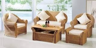 Decorate Your Living Room By Designer Cane Chair And Cane Table - Wicker sofa sets