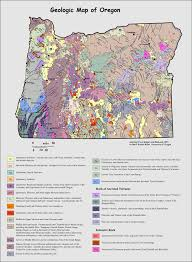 Oregon Map by Geologic Map Oregon Oregon Geology Geology Of Oregon Earth