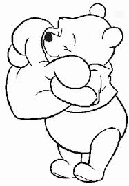 Pooh Coloring Pages 28 Images Baby Pooh Birthday Coloring