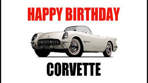 corvette birthday birthday corvette