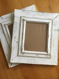 11x14 opening frames shabby chic chunky white distressed frames