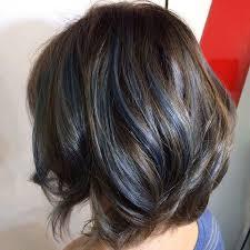 grey streaks in hair the 25 best blue hair streaks ideas on pinterest blue streak in