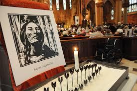 Saint Thanksgiving Mass Celebrated For New Saint The Daily Gazette