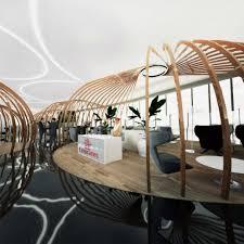 swiss bureau contemporary lounge concept cip airport design by swiss