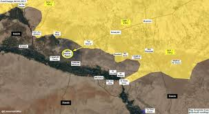 Raqqa Syria Map by Day Of News On The Map March 09 2017 Map Of Syrian Civil War