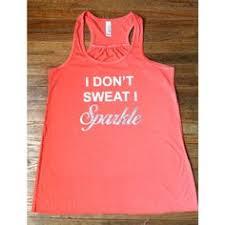 i don t sweat i sparkle tank i don t sweat i sparkle tank top fitness tank workout tank fitness