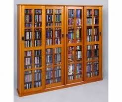 glass door media storage foter