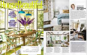 House Of Oak And Sofas by Edgar Reeves Lighting Featured In House Beautiful July August