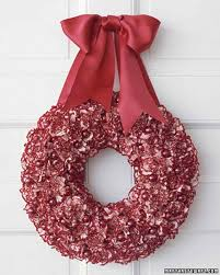 holiday carnation wreath martha stewart