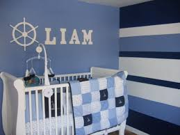 Best  Blue Striped Walls Ideas On Pinterest Striped Walls - Baby boy bedroom paint ideas