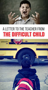 a letter to the teacher from the