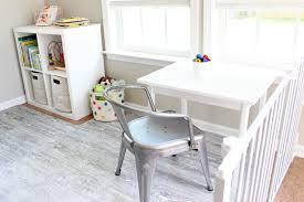 Diy Toddler Desk by Diy Toddler Table Home Sweet Ruby