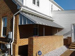 Small Awning Over Back Door Basement Awnings And Stairway Awnings A Hoffman