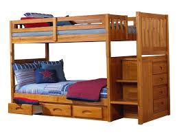 bunk bed twin over full with stairs home design ideas