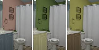 Bathroom Cabinets Painting Ideas Two Tone Bathroom Colors Best 25 Two Toned Walls Ideas On