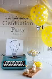 graduation party a bright future latex balloons light bulb