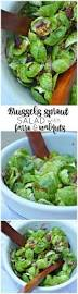 thanksgiving salad brussels sprout salad with farro and walnuts sugar dish me