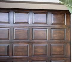 Painting Aluminum Garage Doors by Faux Garage Doors
