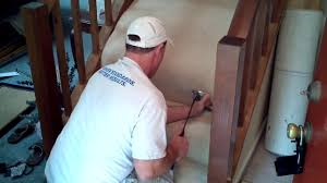 how to install carpet on stairs step by step guide
