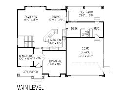 craftsman style house plan 5 beds 3 00 baths 3957 sq ft plan 920 75