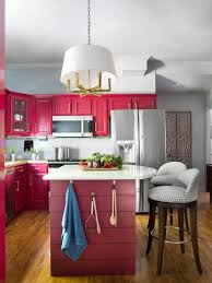 Red Painted Kitchen Cabinets Best Small Kitchens With Bar Baytownkitchen Remarkable Kitchen And
