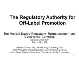 the medical device regulatory and compliance congress ppt video