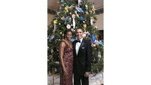 on lavender white house tree ornaments for the