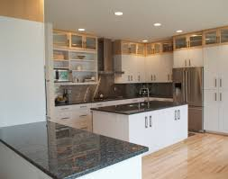 Kitchen Tile Backsplash Design Ideas Kitchen Dark Brown Cabinets Stainless Steel Modern Bar Stool