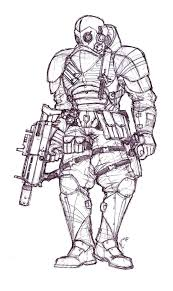 Black Ops Commando By Phoenixangel924 On Deviantart Call Of Duty Black Ops Coloring Pages