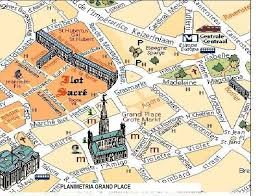 Brussels Map Of Europe by English For Urban Planners Grand Place Bruxelles