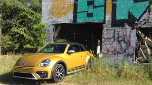 the 2016 volkswagen beetle dune convertible is just a beetle in a