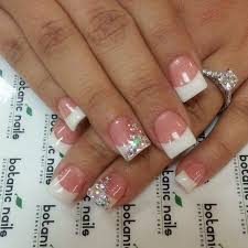 alternative french nails all about nails pinterest french