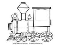 preschool printables transportation