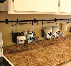 Kitchen Shelf Organization Ideas Best 25 Countertop Organization Ideas On Pinterest Organizing
