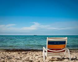 Chairs On A Beach Beach Chair On Serenity Bay A Quiet Warm View From Sereni U2026 Flickr