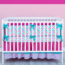 Blue And Yellow Crib Bedding Furniture Chevron Crib Bedding Set Alluring Turquoise 33