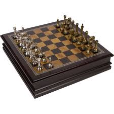 wooden chess set ebay
