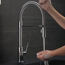 pro style kitchen faucet country style kitchen faucets quince