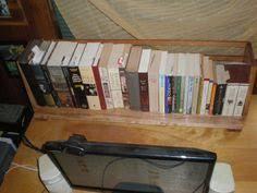 Single Shelf Bookcase A Nifty Single Shelf Bookcase That Sits Desktop Behind My Computer