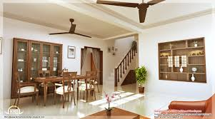 apartments modern dining room design with wooden dining table and